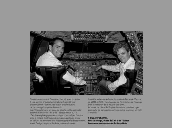Les auteurs de Concorde Passion
