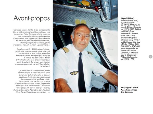 Avant-propos de Concorde Passion