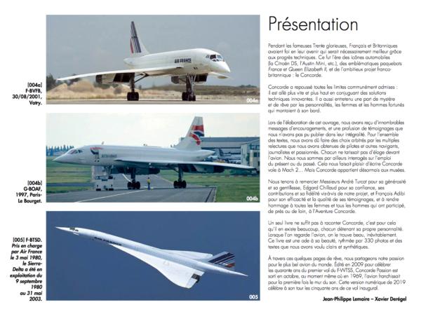 Présentation de Concorde Passion