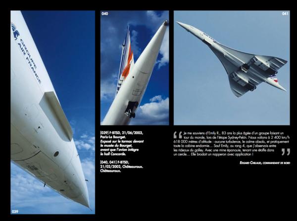 Page exemple de Concorde Passion