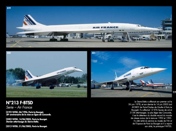 Carte d'identité F-BTSD - Concorde Passion